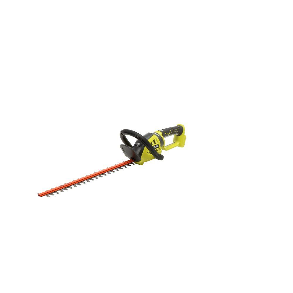 Ryobi Lawn Equipment 24 in. 24-Volt Lithium-Ion Cordless Hedge Trimmer - Battery and Charger Not Included RY24602A