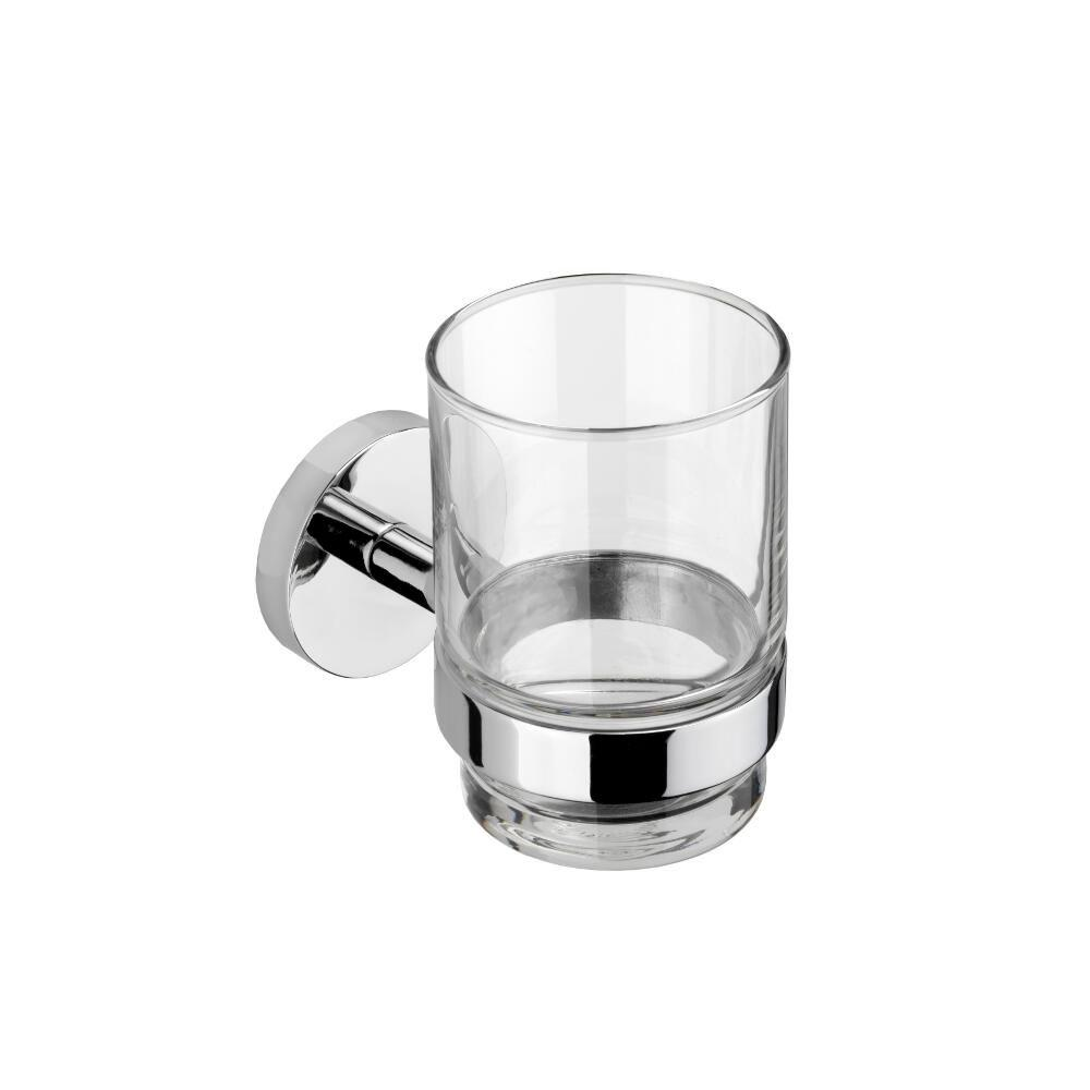 Croydex Hardware Pendle Tumbler and Holder in Chrome QM411841YW