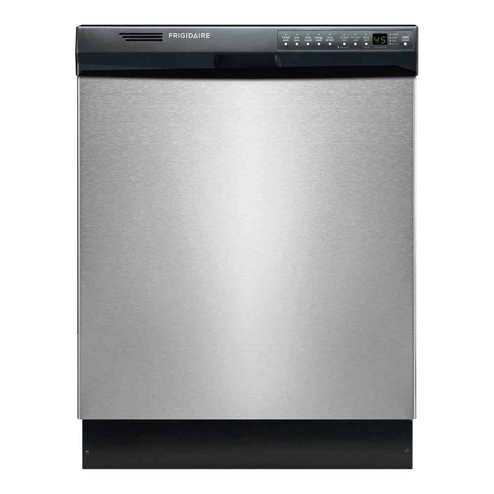 Frigidaire Front Control Dishwasher in Stainless Steel (S...