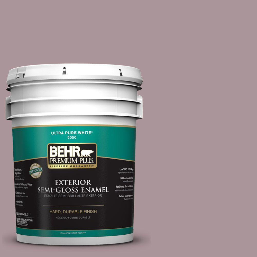 5-gal. #ICC-64 Heirloom Quilt Semi-Gloss Enamel Exterior Paint