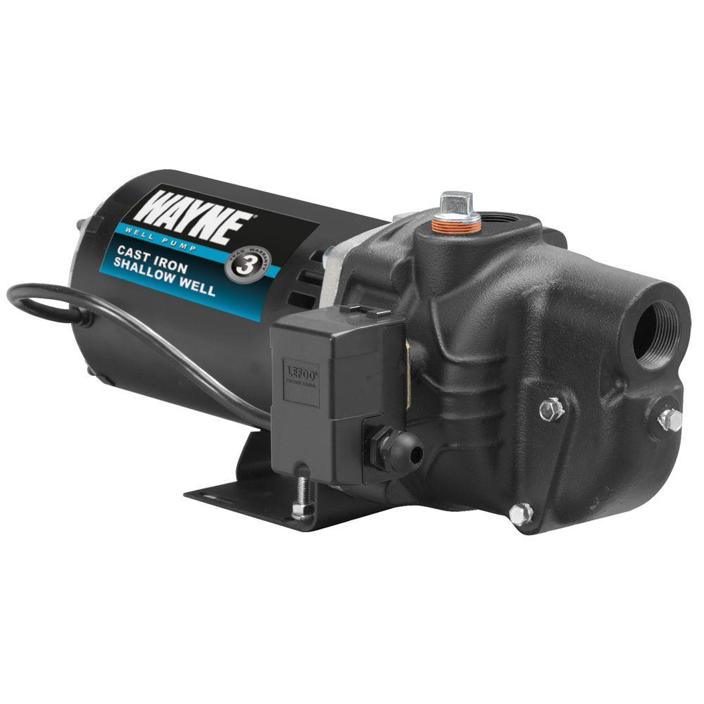 Wayne 3/4 HP Shallow Well Jet Pump