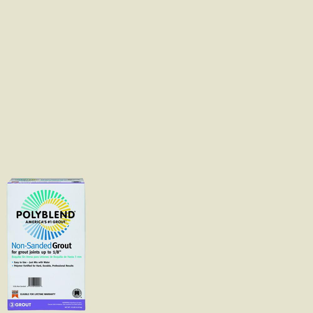 Polyblend #333 10 lb. Alabaster Non-Sanded Grout