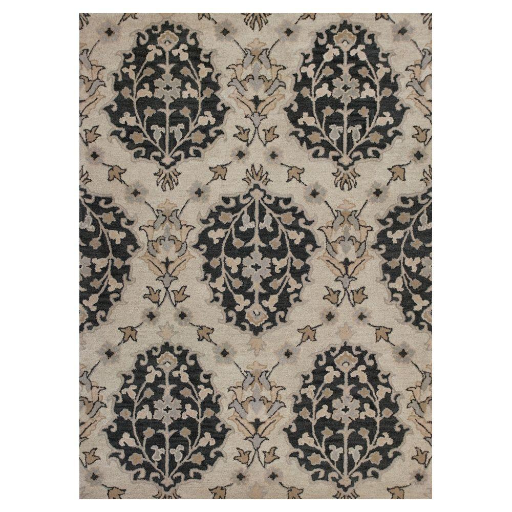 Kas Rugs Carson Ivory 8 ft. x 10 ft. Area Rug-CHE23938X10