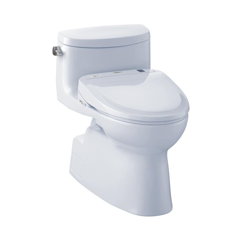 Carolina II Connect+ 1-Piece 1.28 GPF Elongated Toilet with Washlet S300e