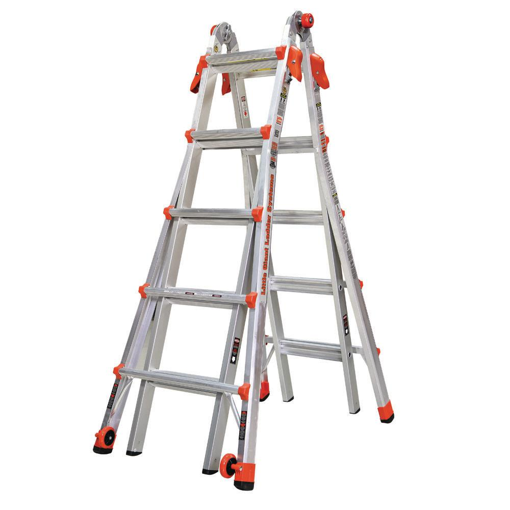 LT 22 ft. Aluminum Multi-Position Ladder with 300 lbs. Capacity Type