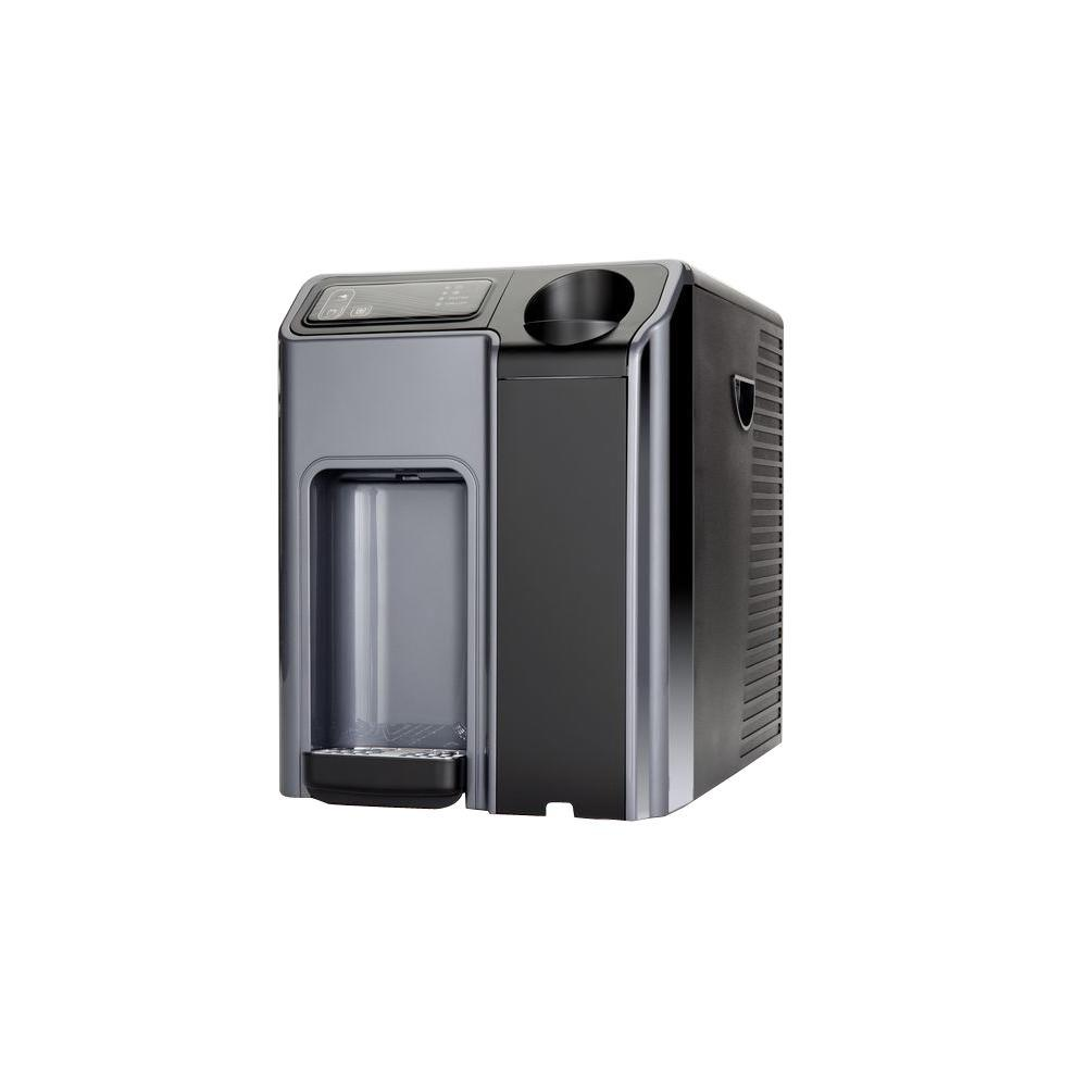 G4F Counter Top Hot and Cold Bottleless Water Cooler with 3 Stage Filtration, Grays
