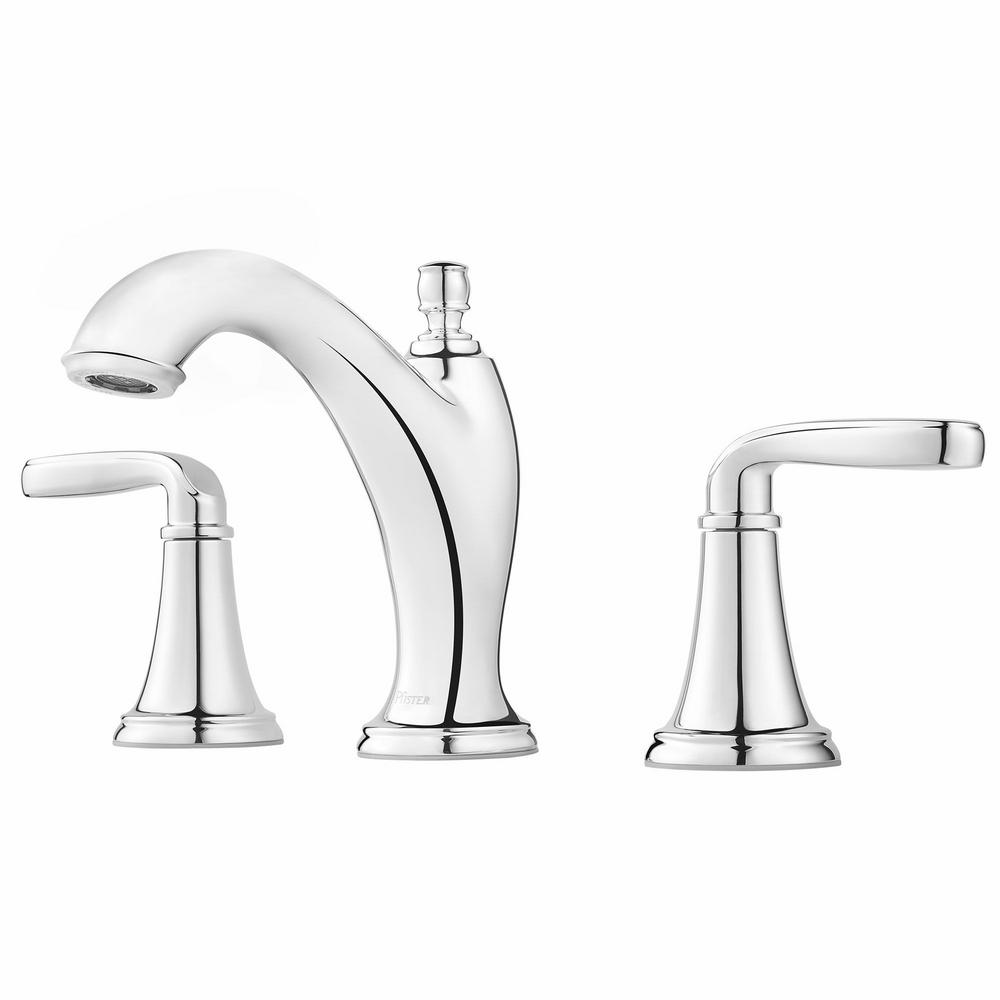 Pfister Northcott 8 in. Widespread 2-Handle Bathroom Faucet in Polished