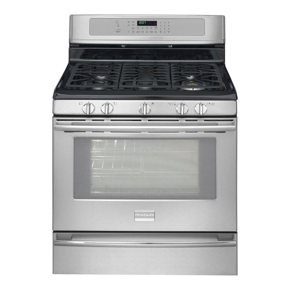 Frigidaire Professional 5.0 cu. ft. Gas Range with Self-Cleaning Oven in Stainless Steel