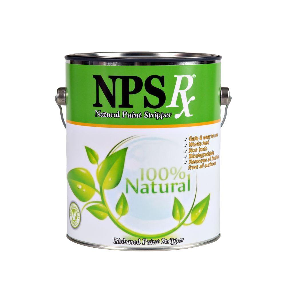 NPS Rx 1-gal. Natural Paint Stripper-20001 - The Home Depot