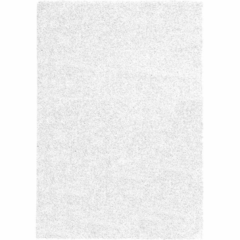 Home Dynamix Himalaya Ivory 5 ft. 2 in. x 7 ft. 2 in. Shag Indoor Area Rug