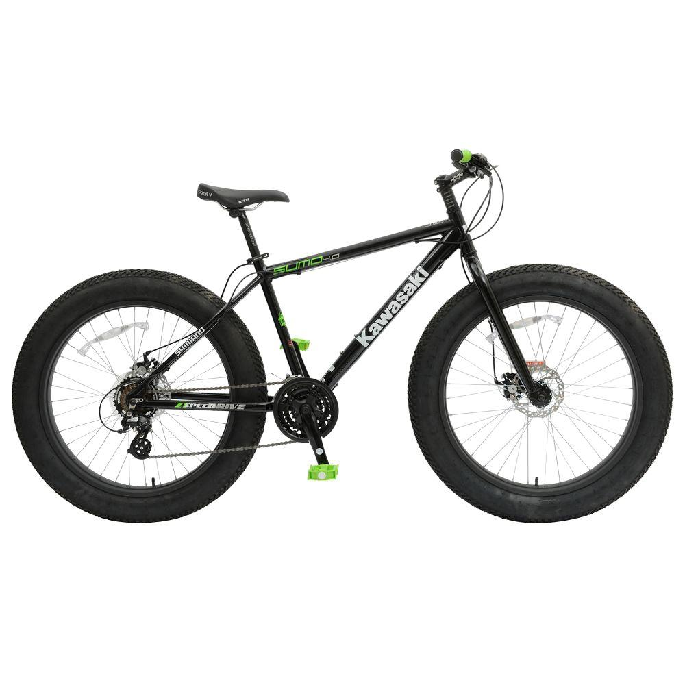 Sumo Fat Tire Bicycle, 26 x 4 in. Wheels, 18.5 in.