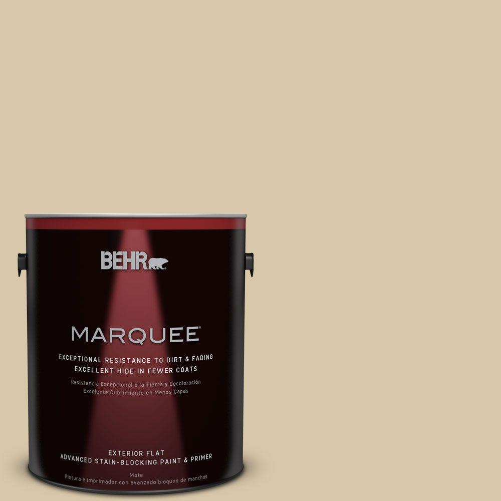 BEHR MARQUEE 1-gal. #PPU4-13 Sand Motif Flat Exterior Paint