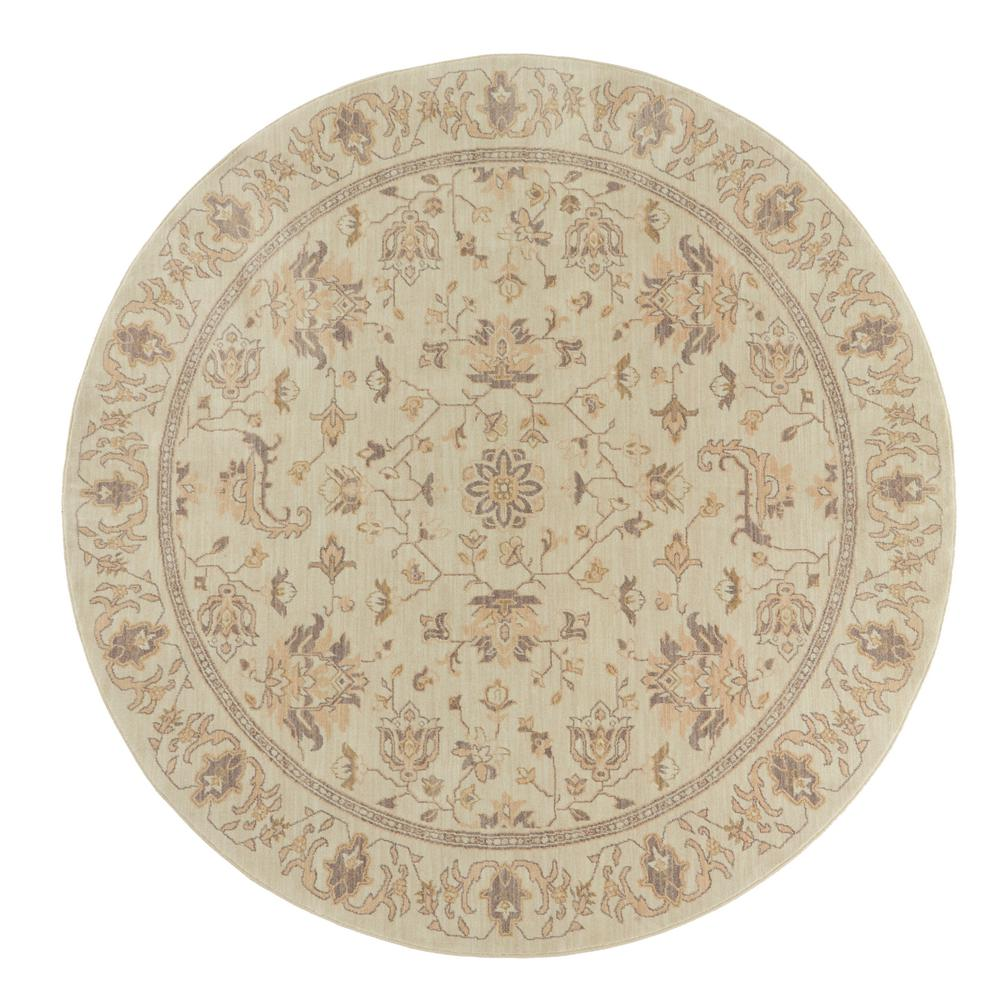 8 Ft Round Area Rug: Artistic Weavers Sofia Beige 8 Ft. X 8 Ft. Round Area Rug