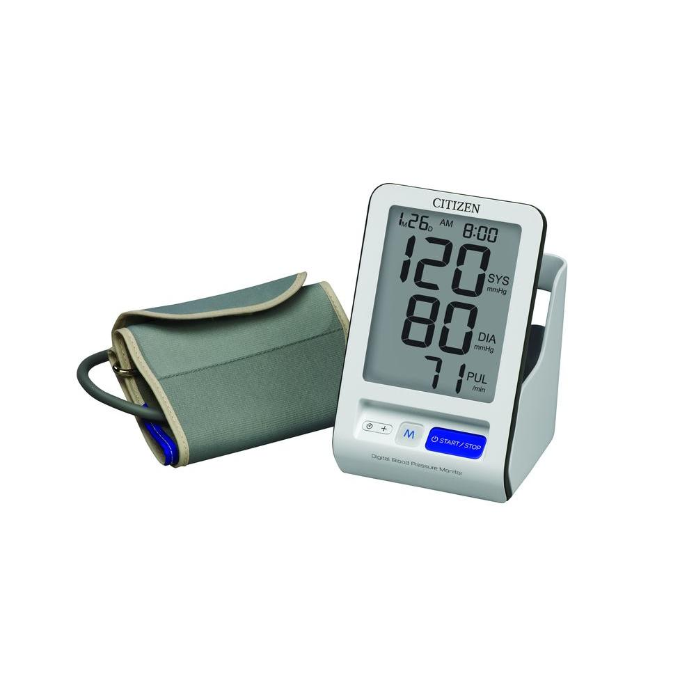 Veridian Healthcare Citizen Blood Pressure Arm Monitor-CH456 - The Home Depot