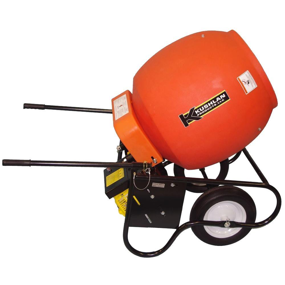 Kushlan 6 cu. ft. Gas Powered Cement Mixer - DISCONTINUED