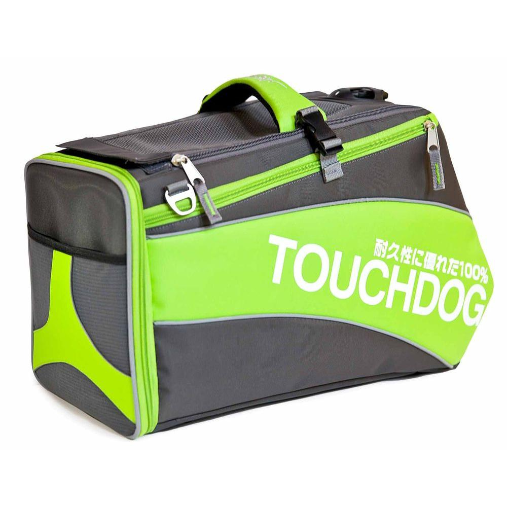 Touchdog Modern-Glide Airline Approved Water-Resistant Dog Carrier-B81YLLG - The