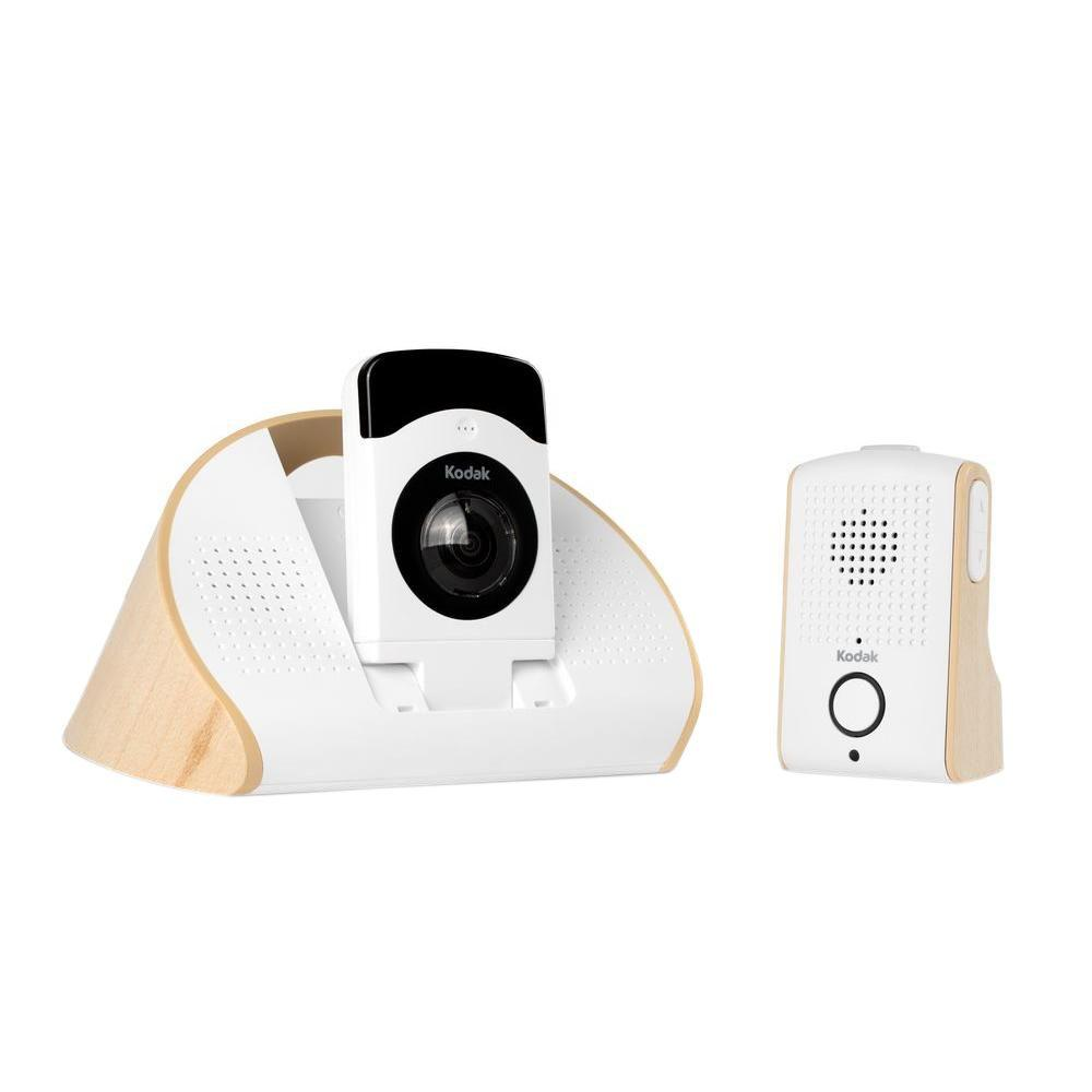 Connected Family Home Wi-Fi Indoor 180 Degree HD Baby Monitoring Camera