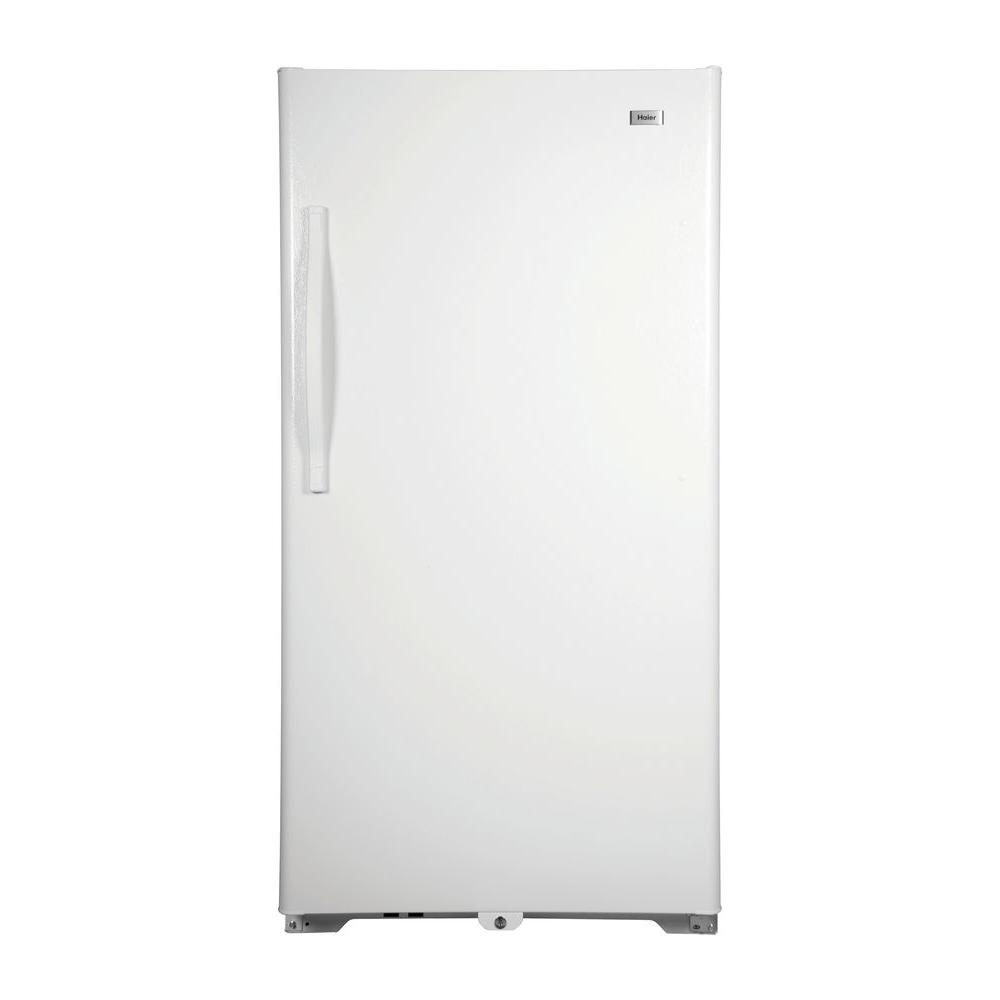 Haier 28 in. W 13.8 cu. ft. Frost Free Upright Freezer in White-DISCONTINUED
