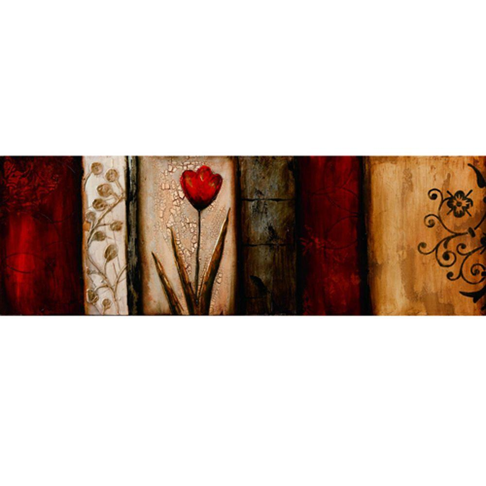 Yosemite Home Decor 59 in. x 20 in. Romance for the Ages I Hand Painted Contemporary Artwork-DISCONTINUED