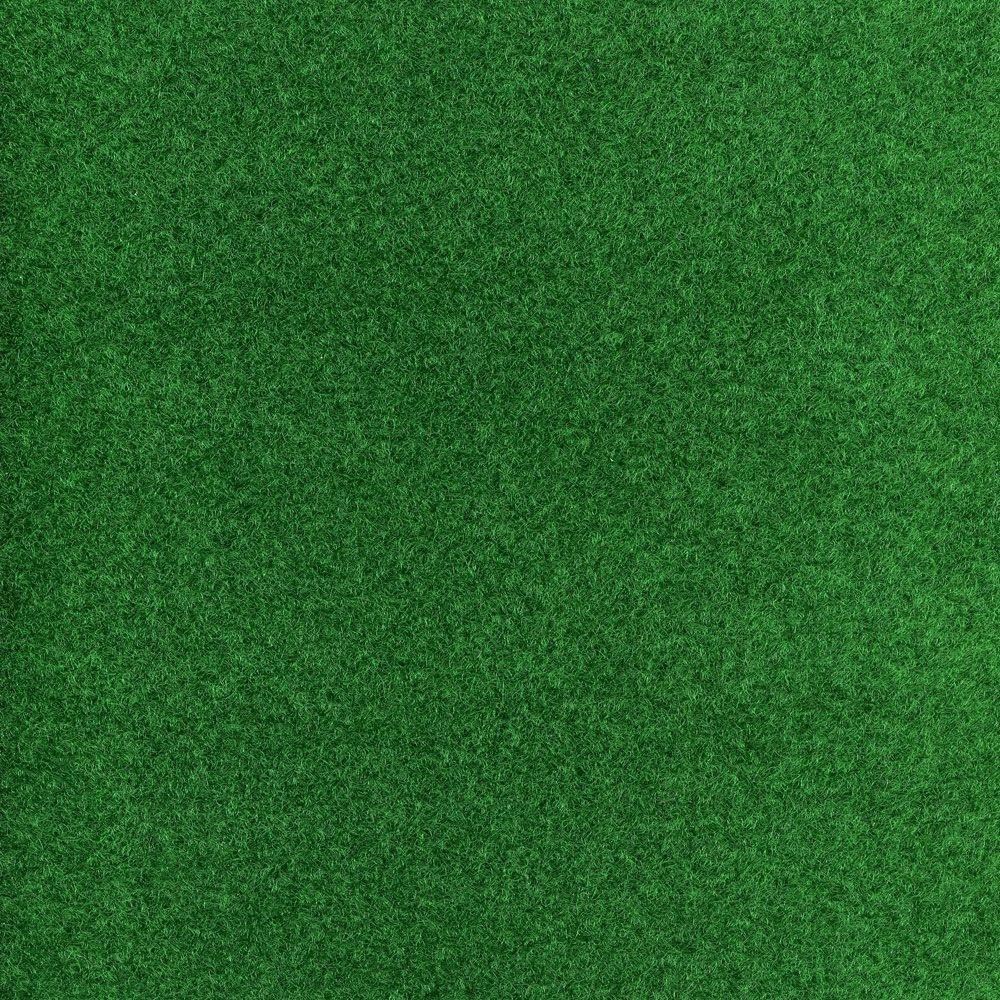 Greenspace Green Texture 18 in. x 18 in. Carpet Tile (16 Tiles/Case)