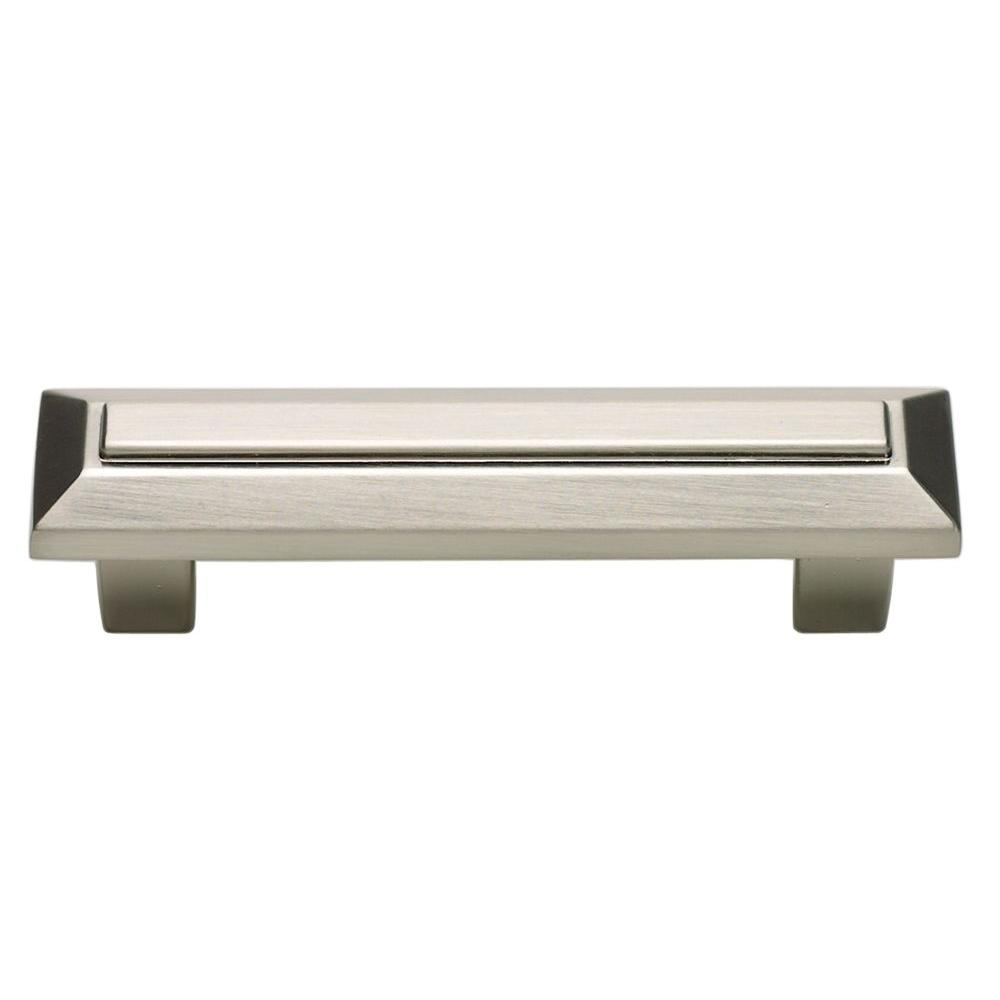 Atlas Homewares Trocadero Collection Brushed Nickel 4 in. Pull-241-BRN - The
