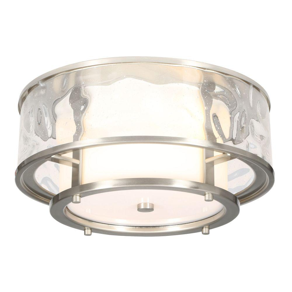 Progress Lighting Bay Court Collection 2Light Brushed Nickel