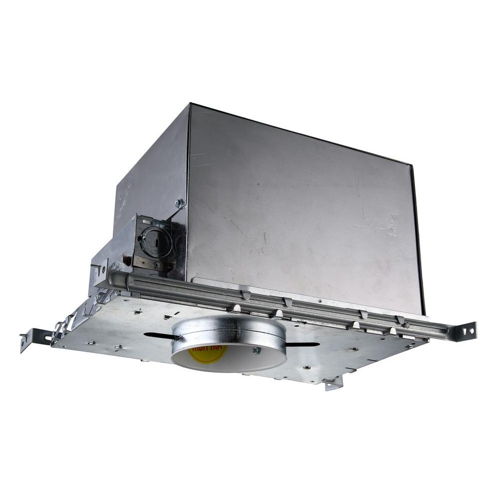 4 in. Recessed Line Voltage New Construction Air Tight Housing