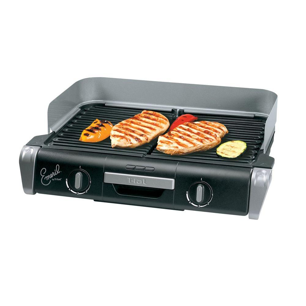 T-Fal Emerilware XL Grill with 2 Removable Non-Stick Plates-DISCONTINUED