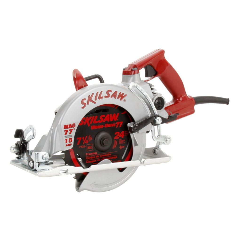 Skil 15-amp 7-1/4 in. Magnesium SKILSAW Worm Drive Saw