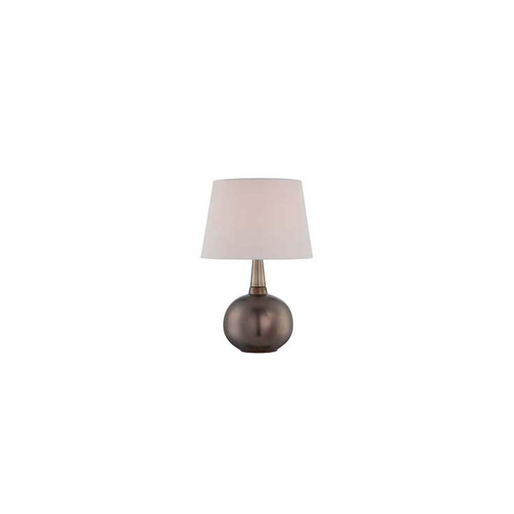 21 in. Bronze Table Lamp