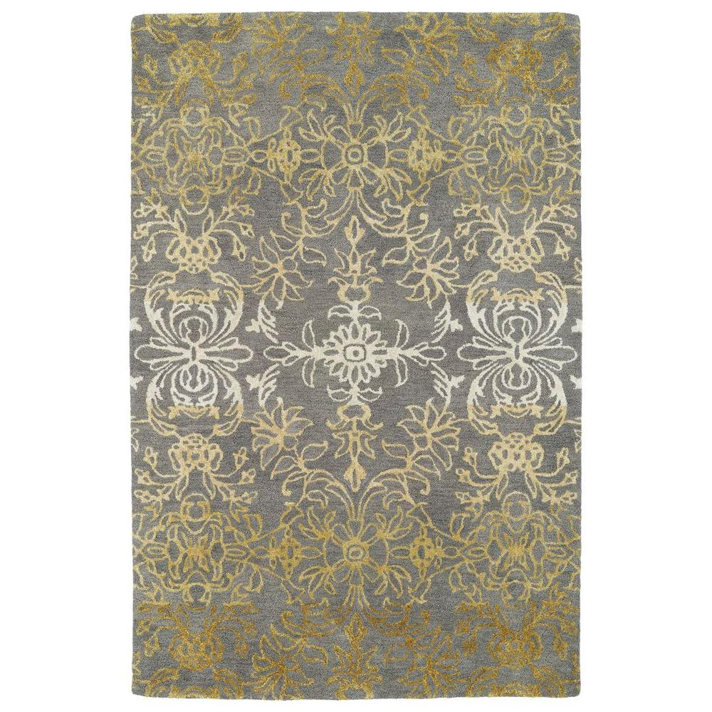 Divine Brown 9 ft. 6 in. x 13 ft. Area Rug