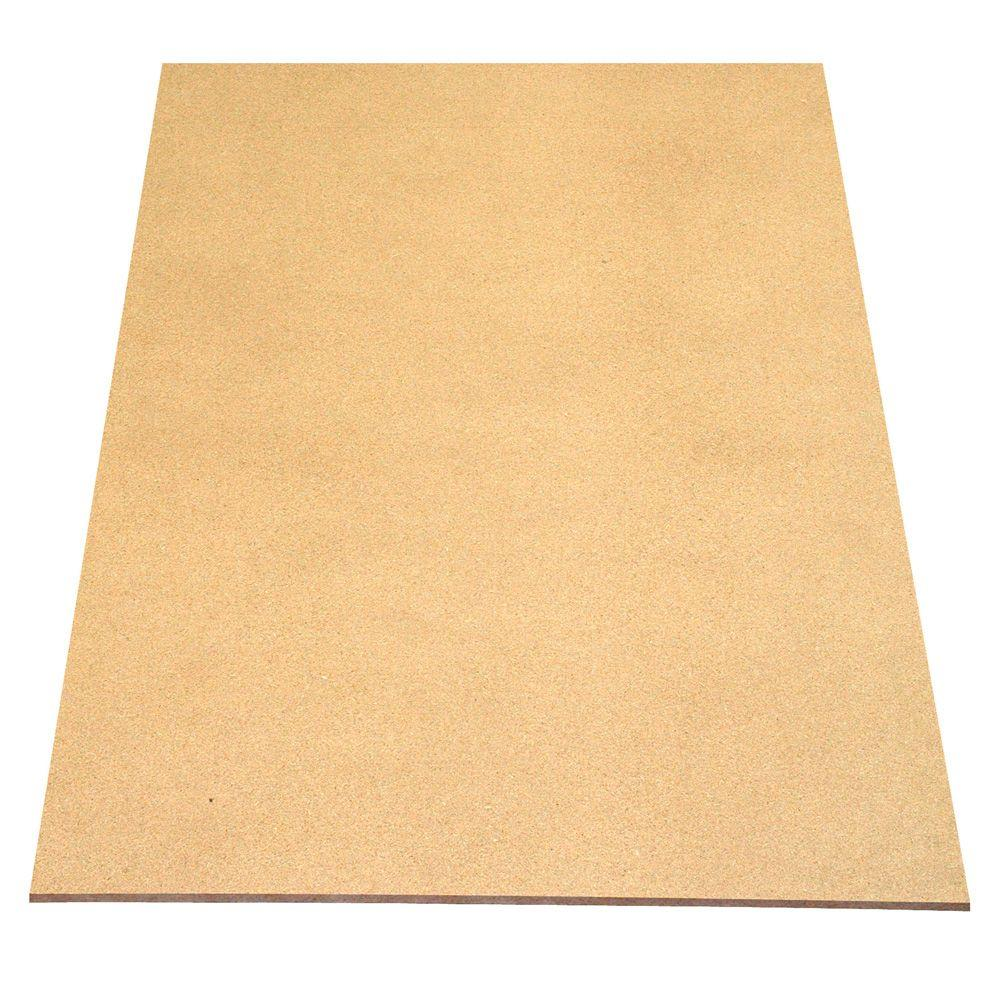 null Particleboard Panel (Common: 3/8 in. x 4 ft. x 8 ft.; Actual: 0.369 in. x 48 in. x 96 in.)
