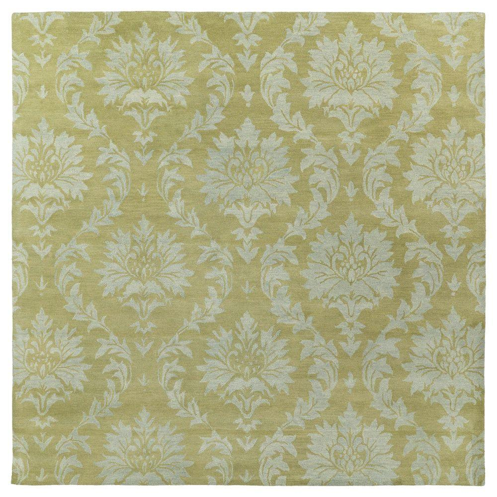 Kaleen Soho Brighton Sage 7 ft. 9 in. x 7 ft. 9 in. Square Area Rug