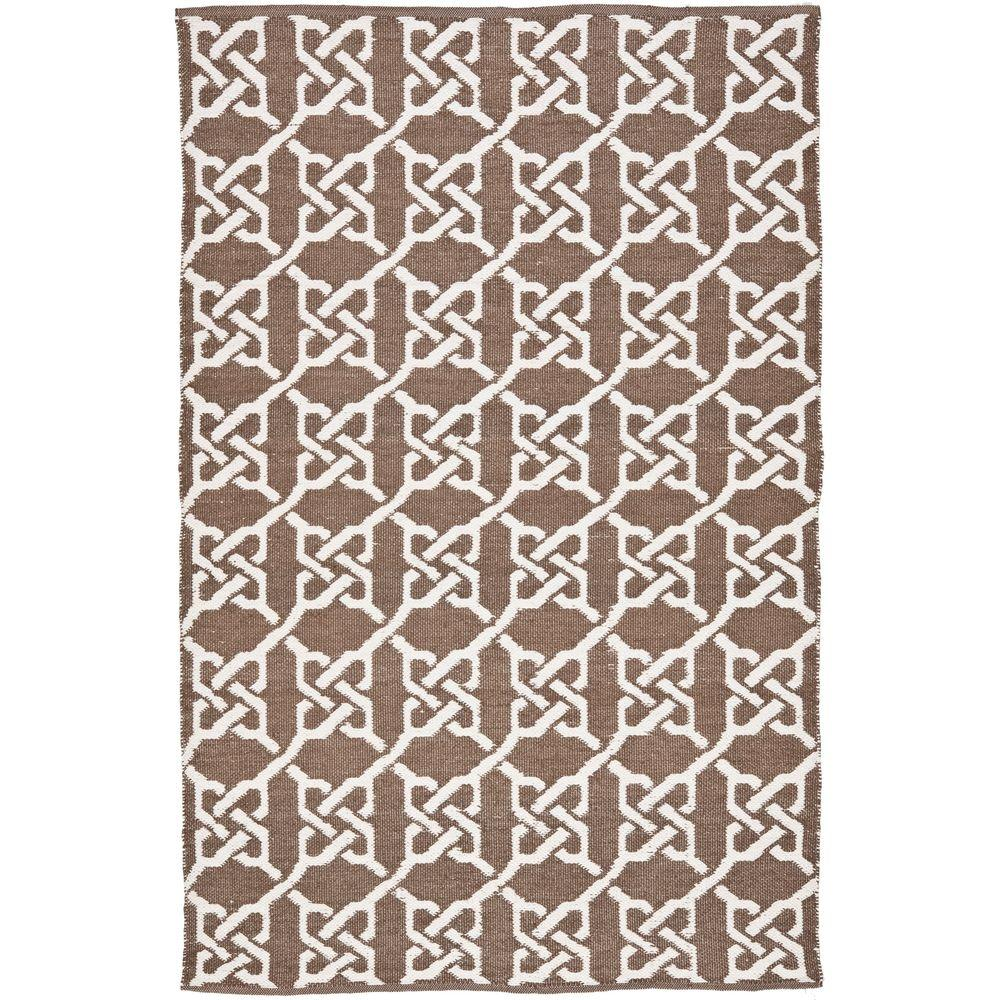 Safavieh Indoor/Outdoor Area Rug: Safavieh Rugs Thom Filicia Saddle 3 ft. x 5 ft. TMF121A-3