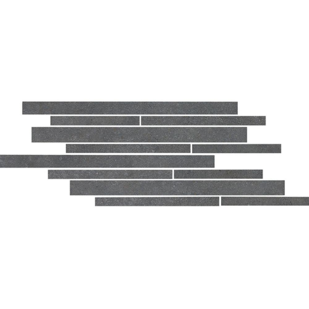Daltile City View Seaside Boardwalk 9 in. x 18 in. x 9-1/2mm Porcelain Mesh-Mounted Mosaic Floor/Wall Tile (4.36 sq. ft. / case)