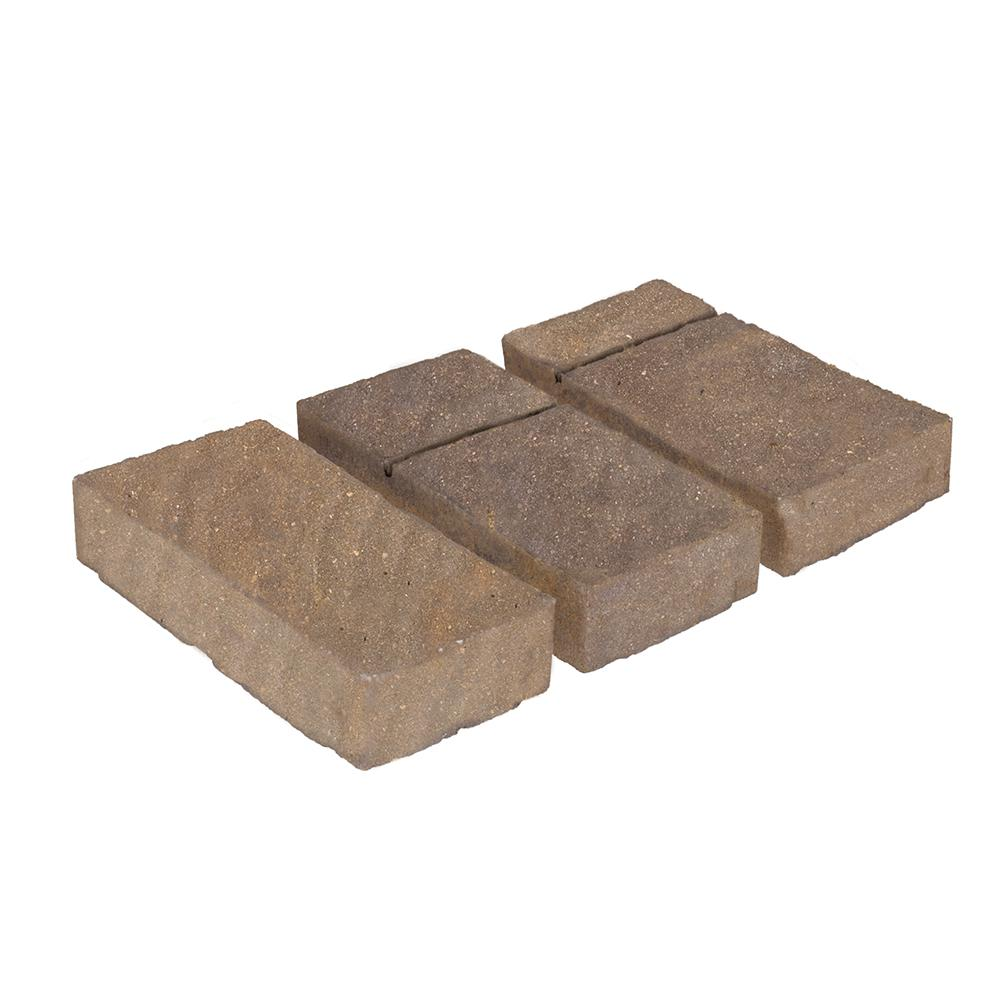 Patio-on-a-Pallet 10 ft. x 12 ft. Domino Gascony Tan Concrete Paver