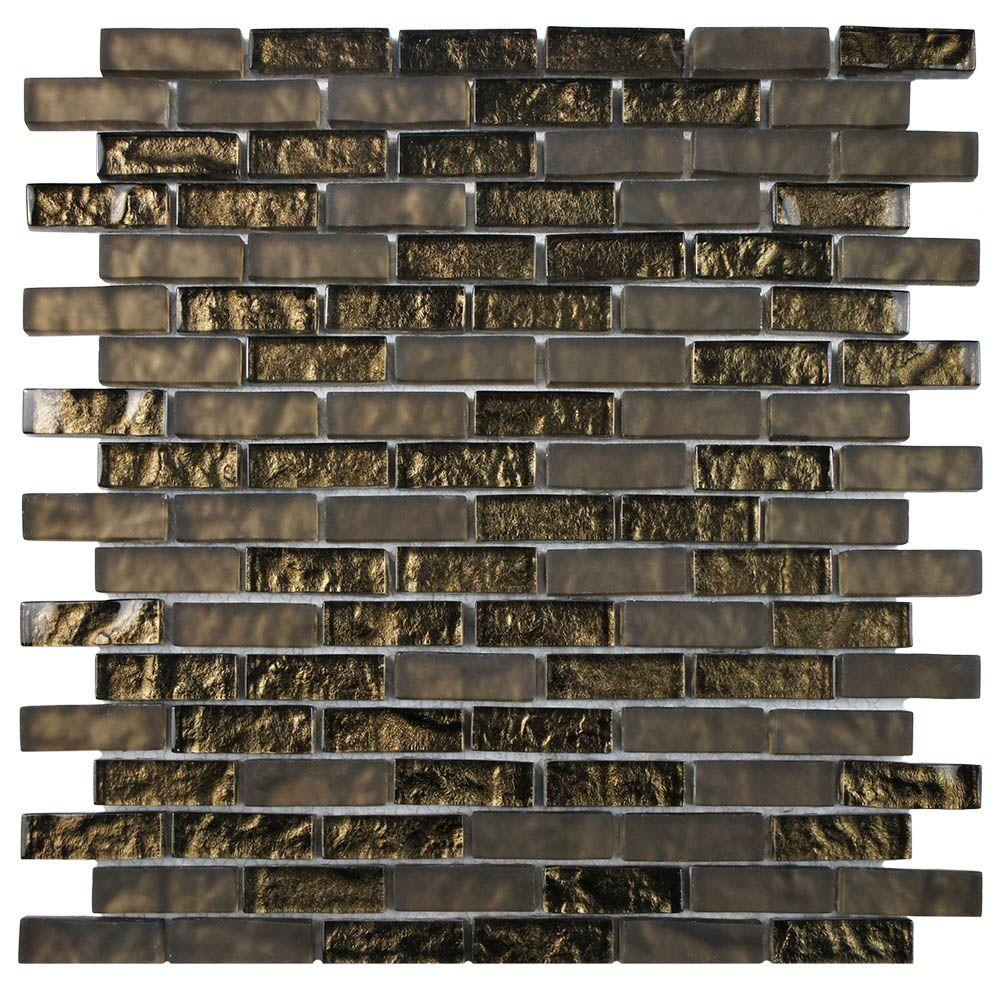 Merola Tile Tessera Subway Empire 11-3/4 in. x 11-3/4 in. x