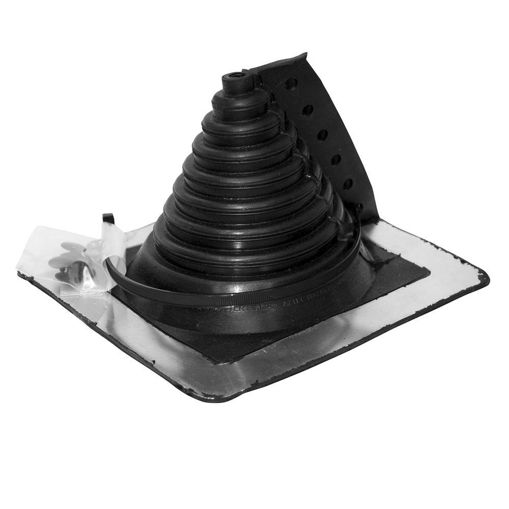 Oatey Retro Master Flash 0.5 in. - 4 in. Roof Flashing-14751