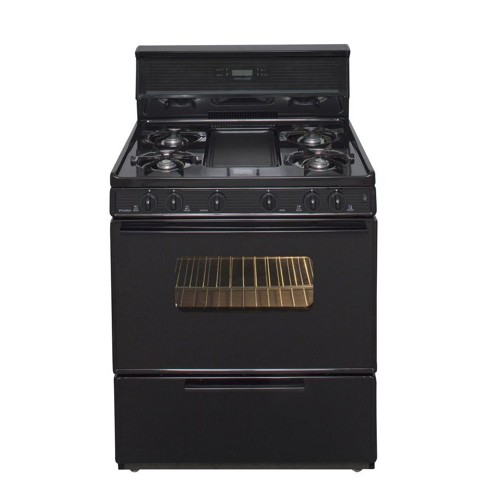 30 in. 3.91 cu. ft.Freestanding Gas Range with 5th Burner and