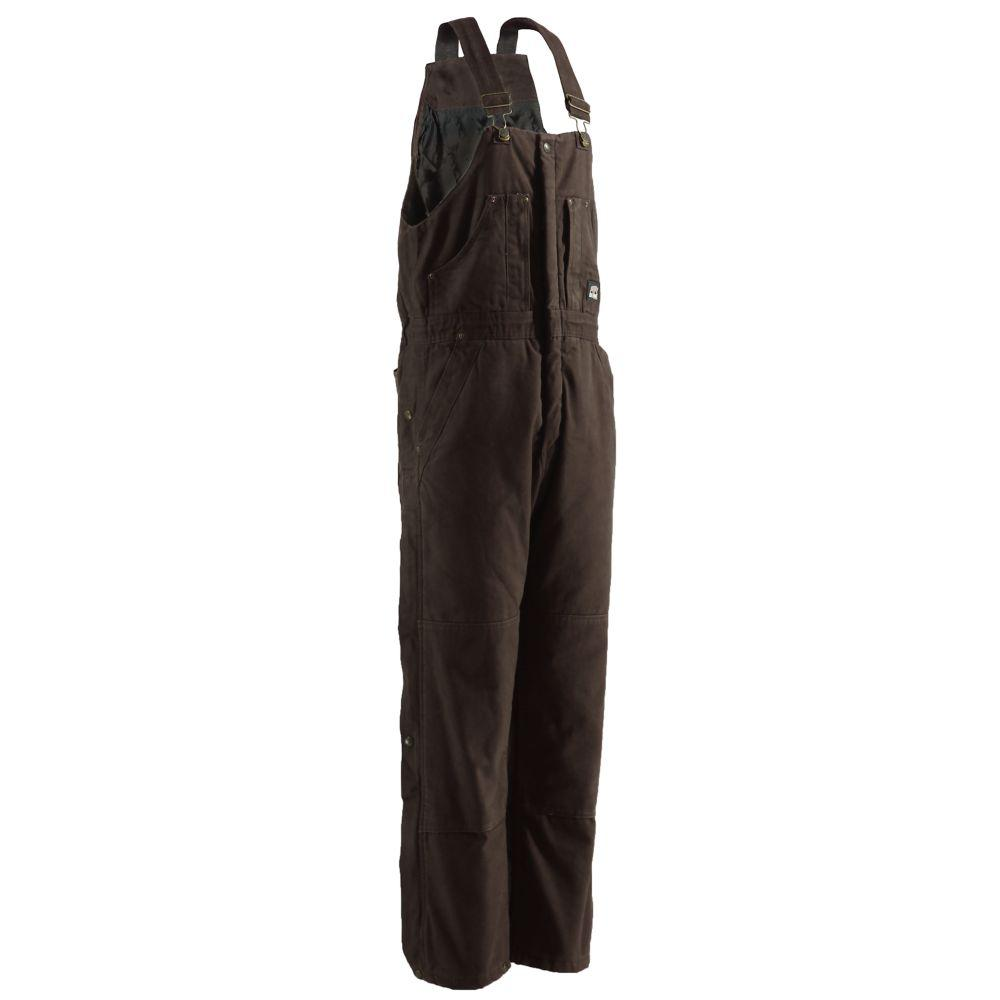 Men's 2X- Large Bark Duck Insulated Bib Overall