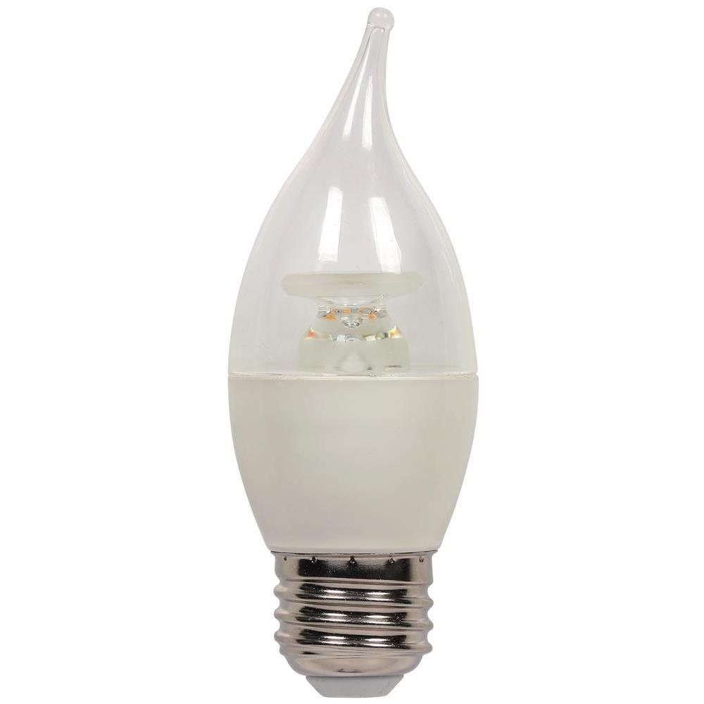 Westinghouse 60W Equivalent Warm White CA13 Dimmable LED Light Bulb-3313900 -