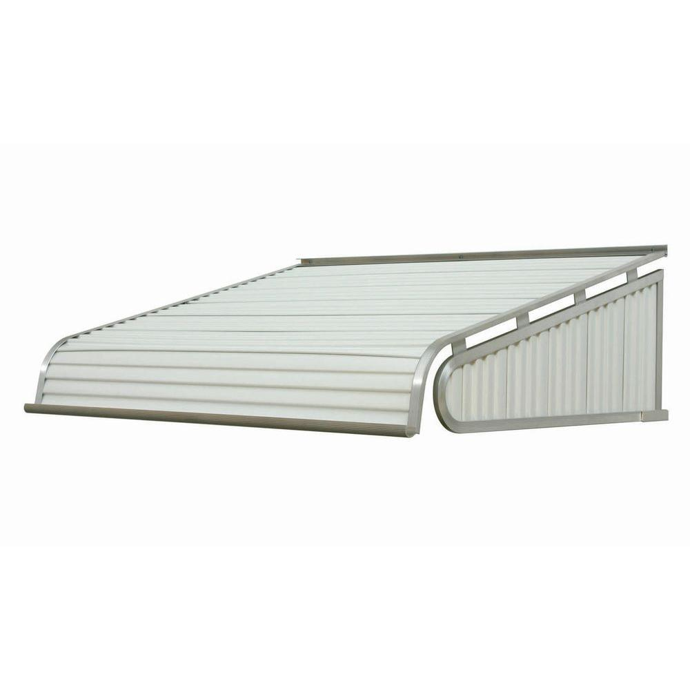 NuImage Awnings 5 ft. 2100 Series Aluminum Door Canopy (18 in.