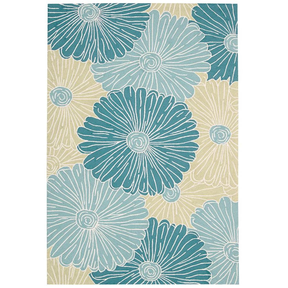 Fantasy Seafoam 2 ft. 6 in. x 4 ft. Accent Rug