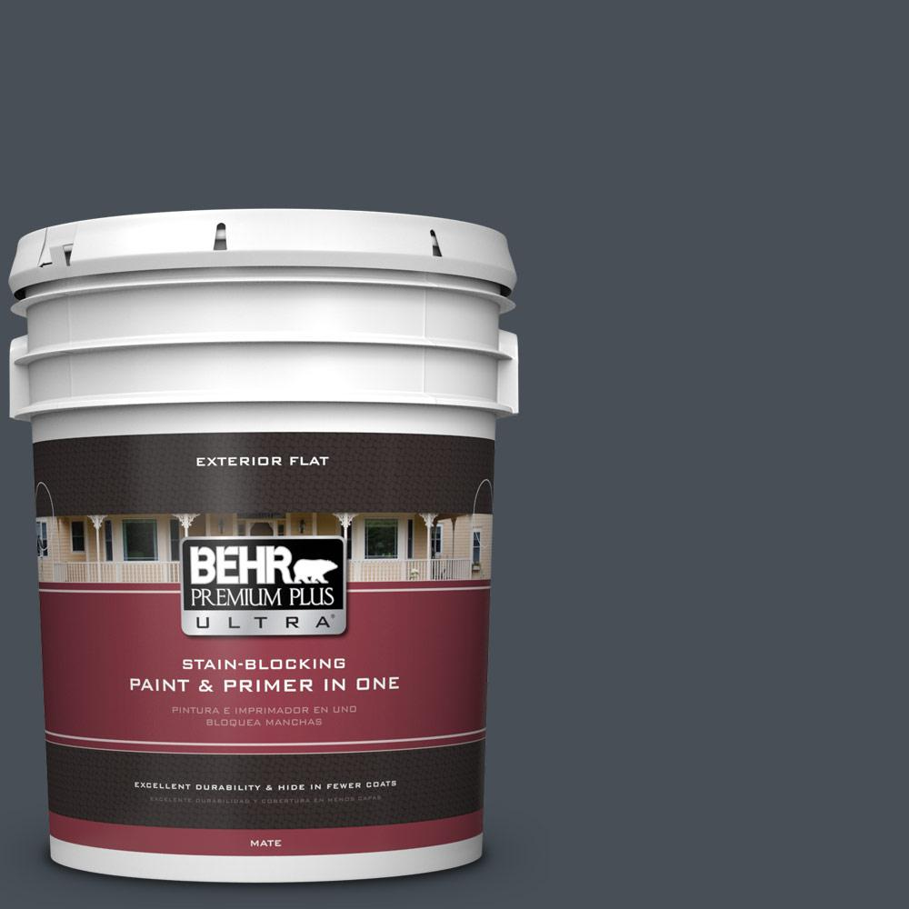 5 gal. #PPU25-22 Chimney Flat Exterior Paint