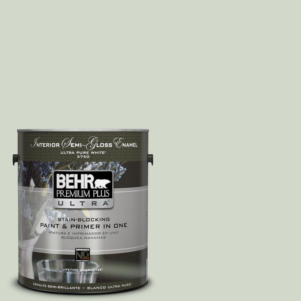 BEHR Premium Plus Ultra Home Decorators Collection 1-gal. #hdc-CT-25 Bayberry Frost Semi-Gloss Enamel Interior Paint