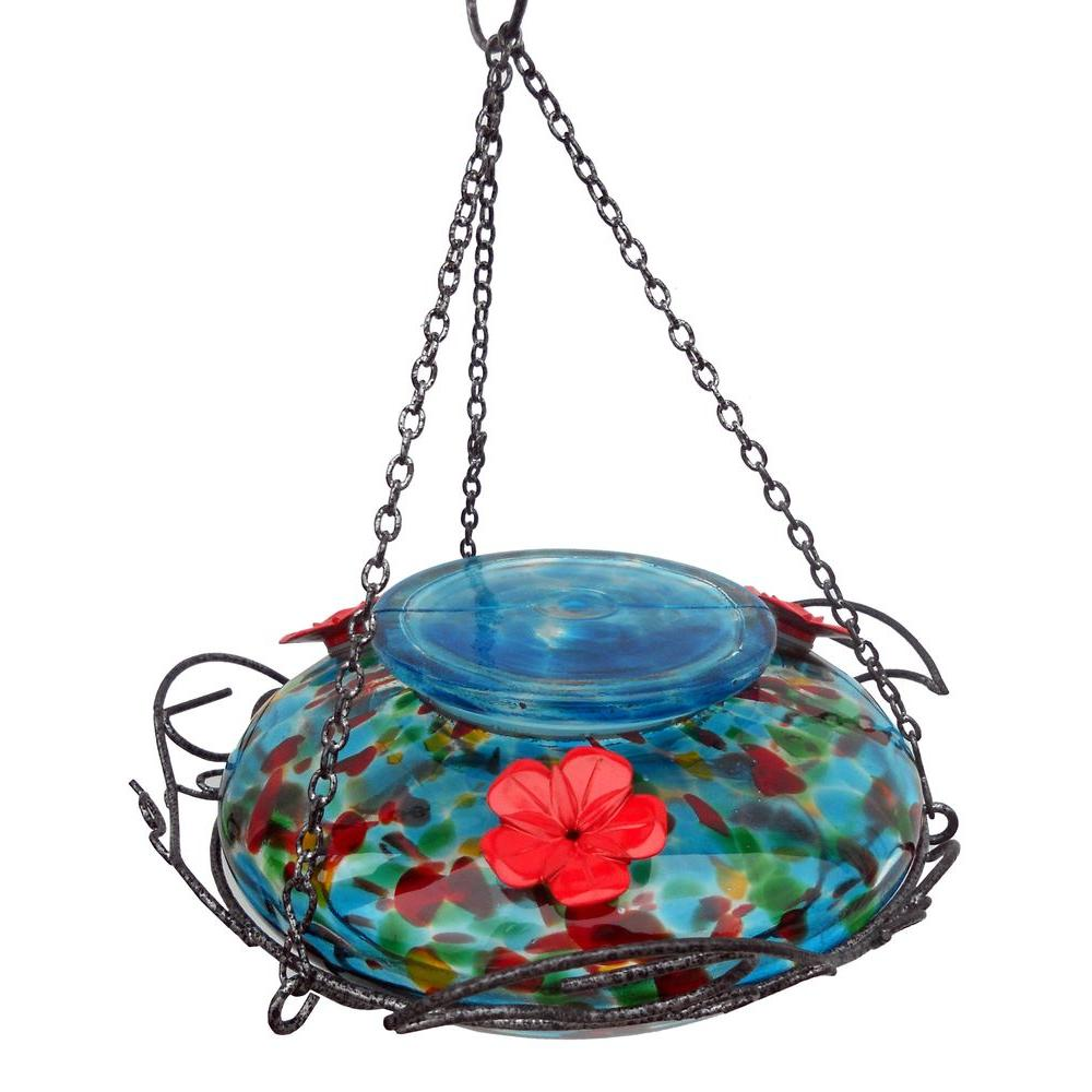 Blue Sunset Top Fill Hummingbird Feeder