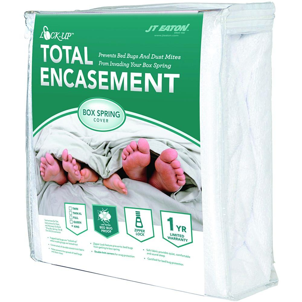 JT Eaton Lock-Up Total Encasement Bed Bug Protection for Twin Size