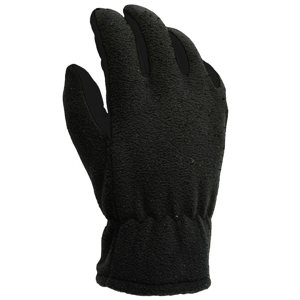 HyperKewl Winter Fleece Large Synthetic Palm Gloves-6037-06 - The Home Depot