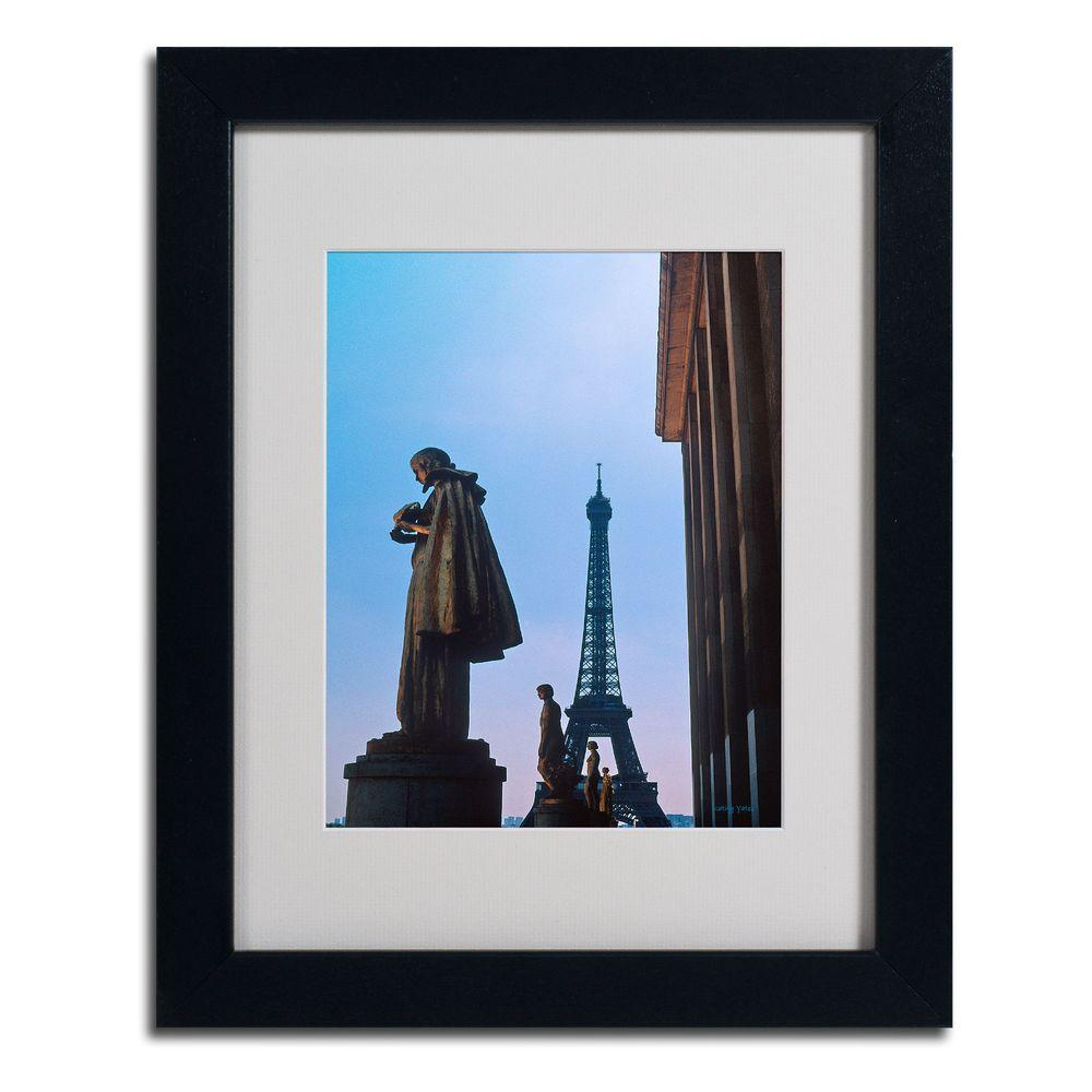 11 in. x 14 in. View of Eiffel from Trocadero Matted