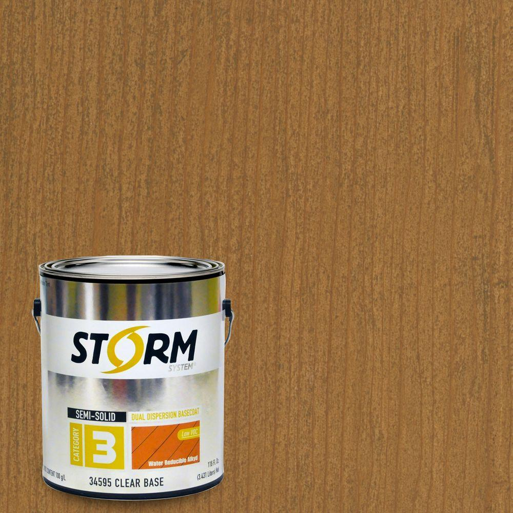Storm System 1 gal. Tenderfoot Exterior Semi-Solid Dual Dispersion Wood Finish